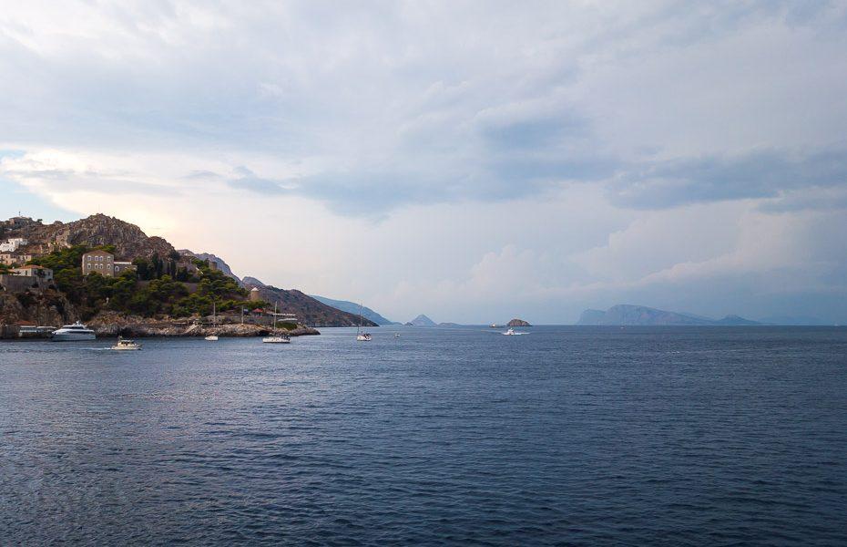 Septembris Grieķijā
