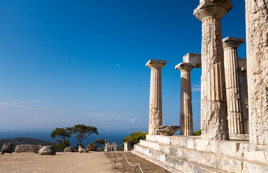 Aegina sala grieķijā