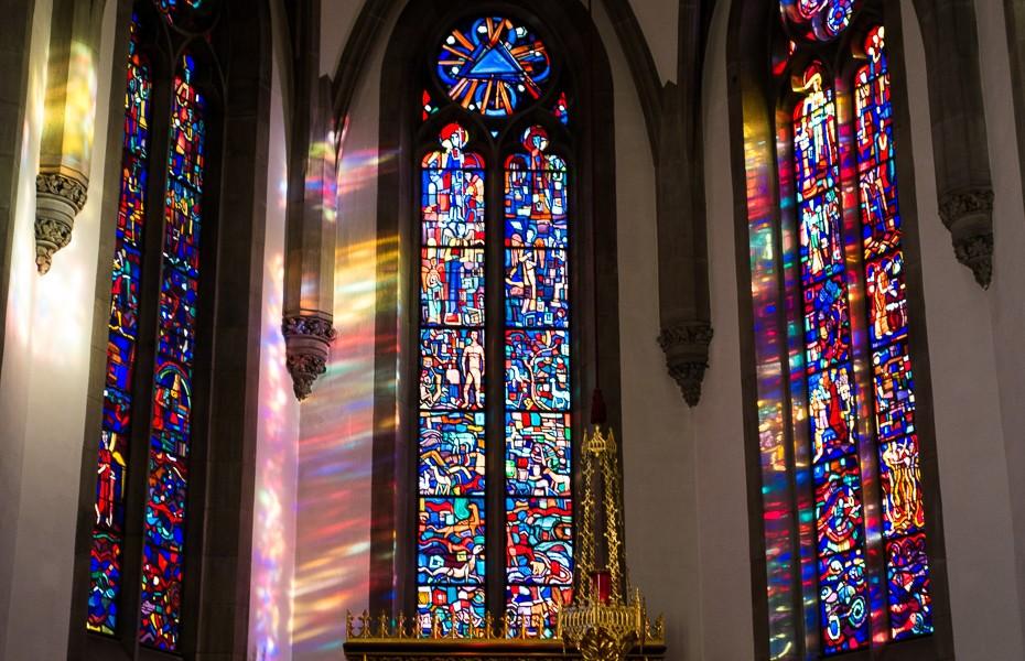 florida katedrale vitrazas vaduca lihtensteina