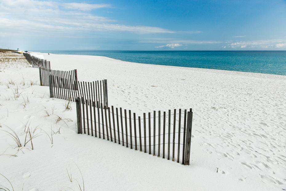 santa rosa sala florida amerika asv pludmale paradīze auto ceļojums