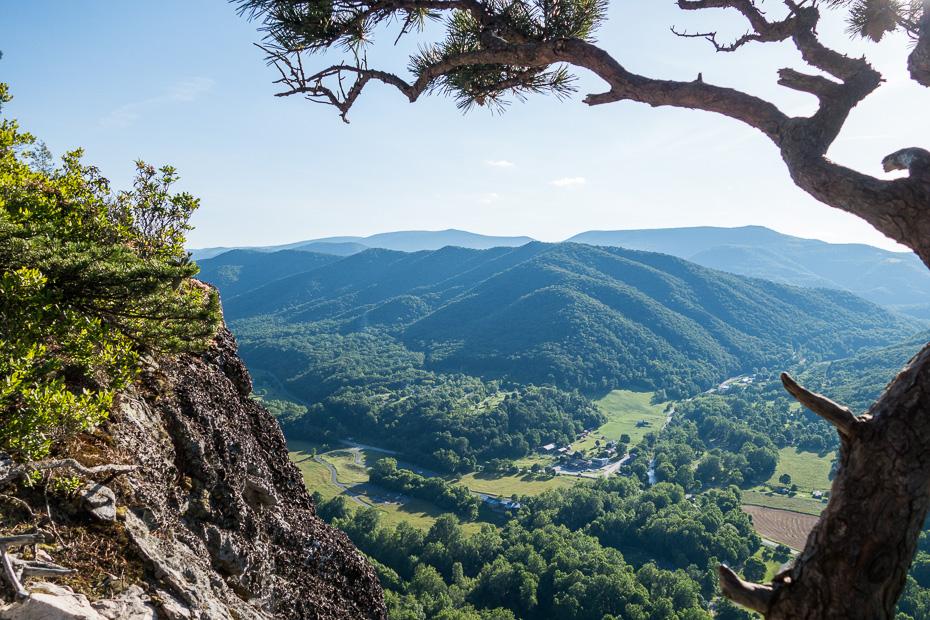 seneca rock kalns rietumvirdžīnija amerika asv pārgājiens daba