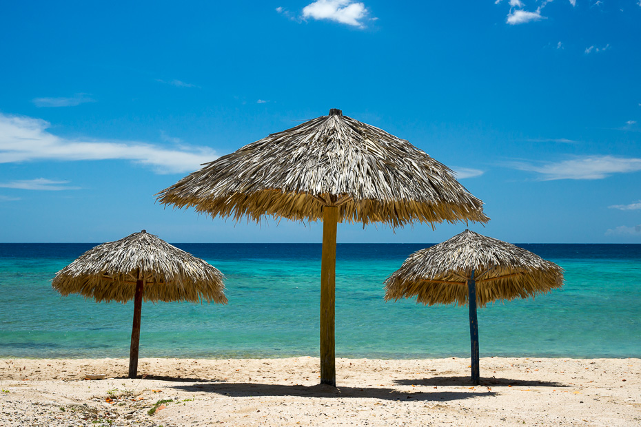playa ancon kuba trinidada pludmale vasara