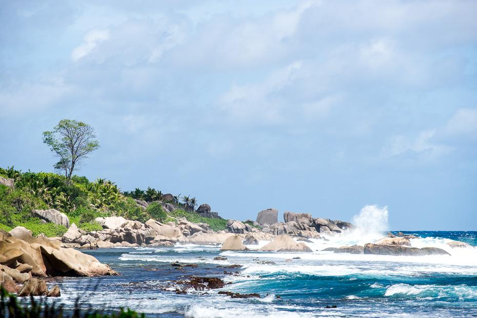anse marron seišelas indijas okeāns pludmale