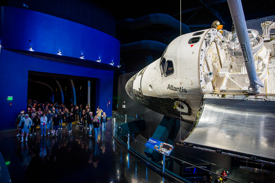 florida atlantis muzejs nasa amerika kosmosa kuģis