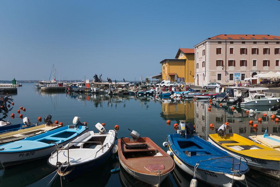 portoroža slovēnija piraņa eiropa adrijas jūra