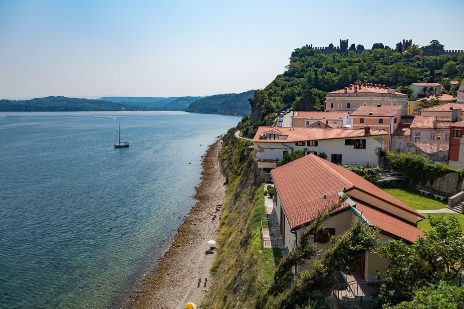 slovēnija piraņa eiropa piran pirano