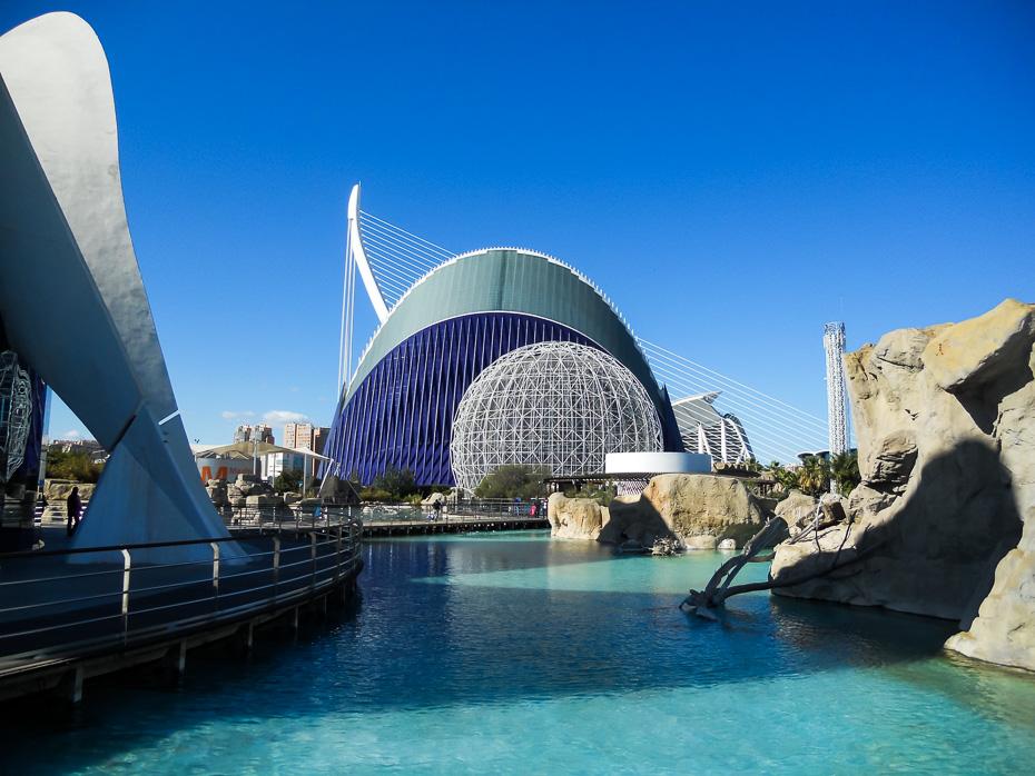 valensija spānija arhitektūra
