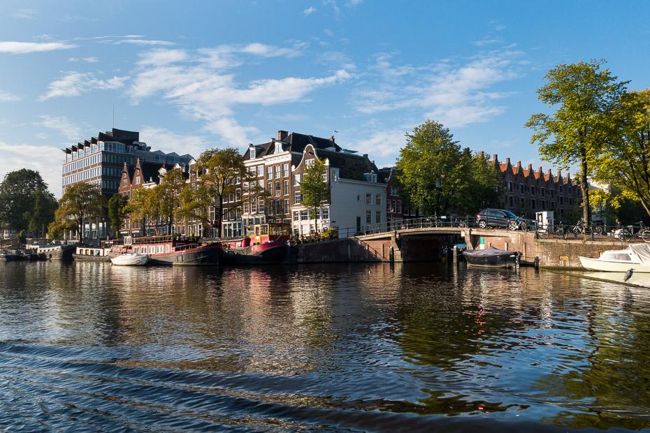 amsterdama kanāli nīderlande holande