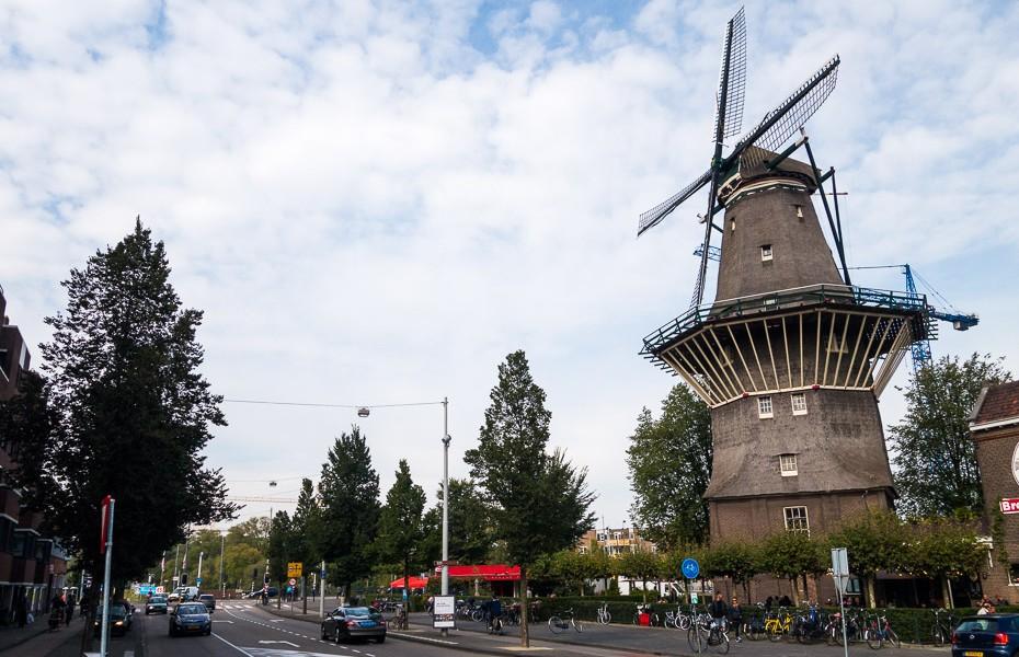 dzirnavas amsterdama nīderlande