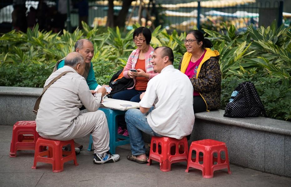 ķīniešu kāršu spēle