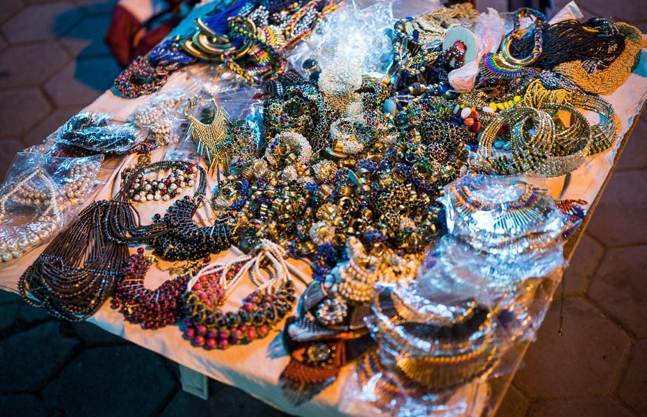 bižutērija indija sudrabs deli tirgus