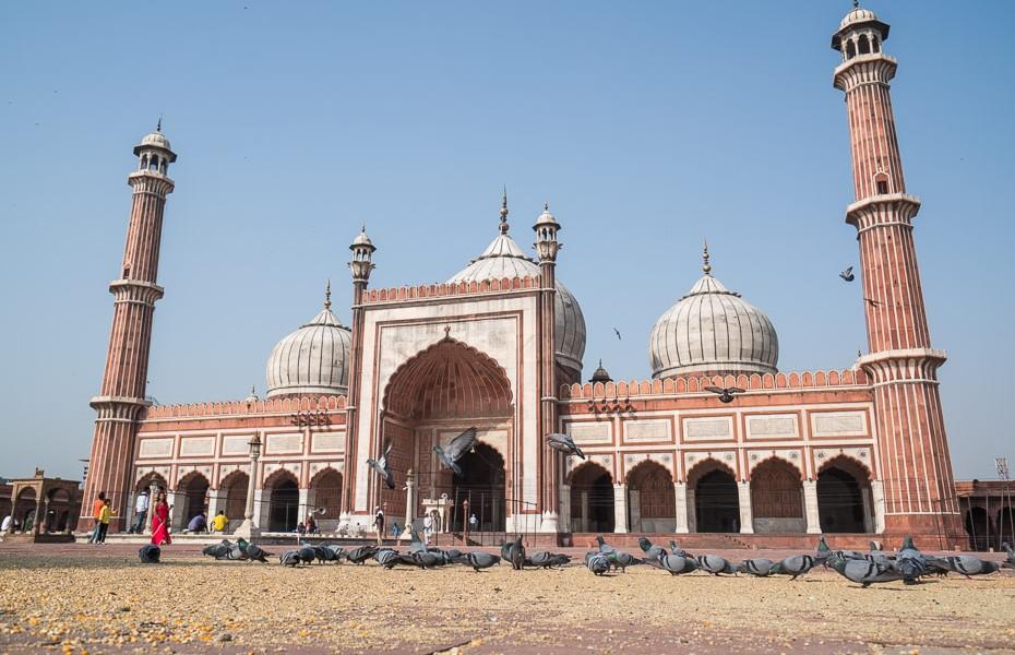 jama masjid mošeja deli indija