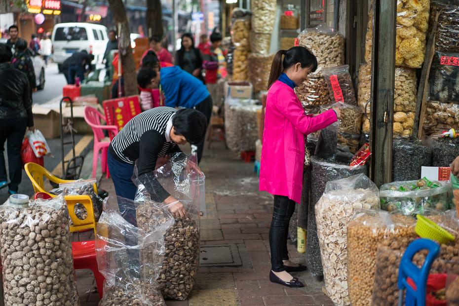 kaltētas sēnes ķīniešu tirgus