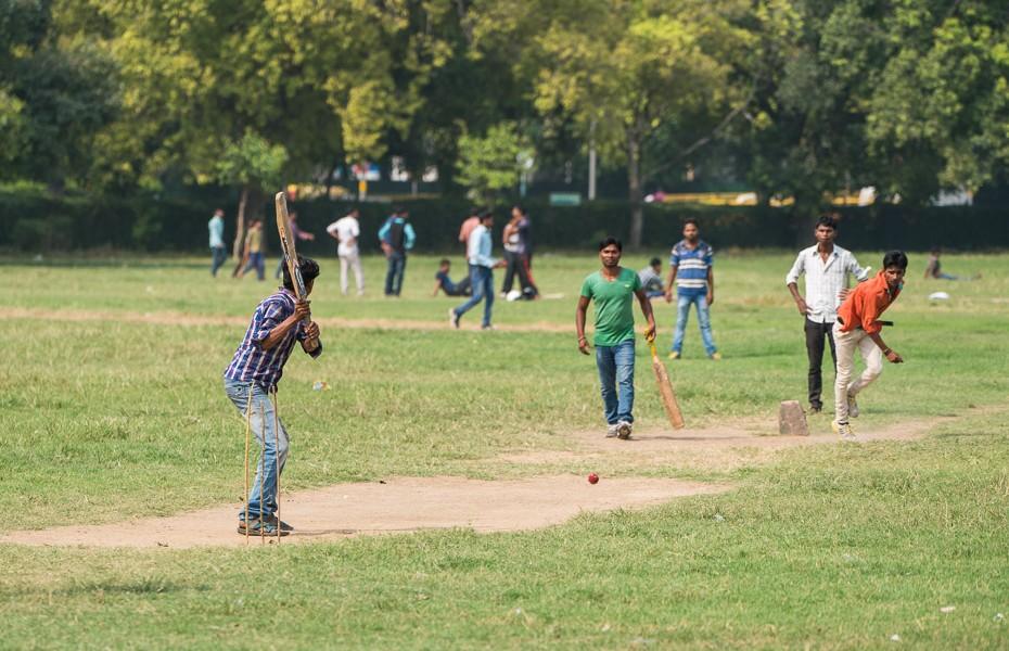 krikets parks deli indija indieši
