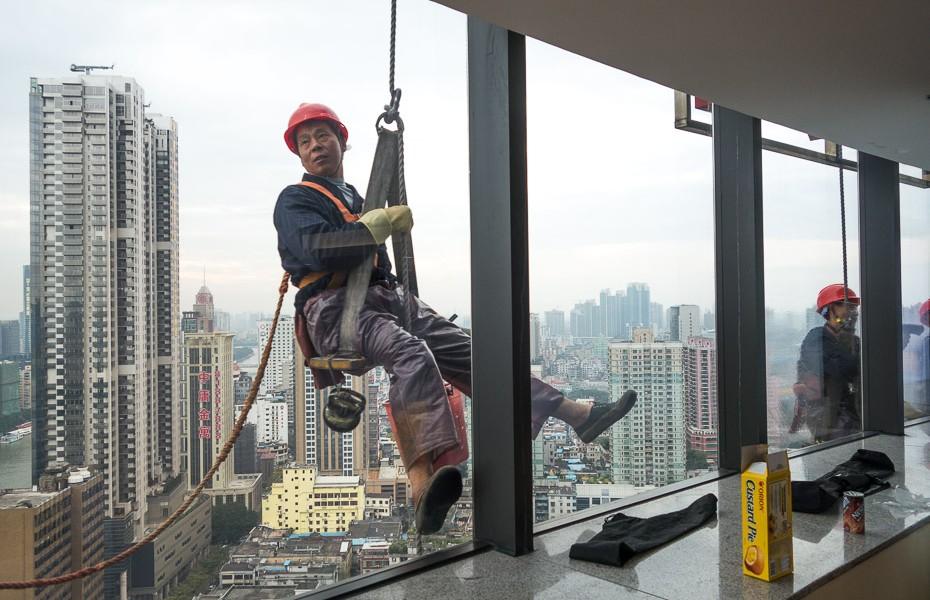 logu mazgātājs debesskrāpis ķīna guandžou