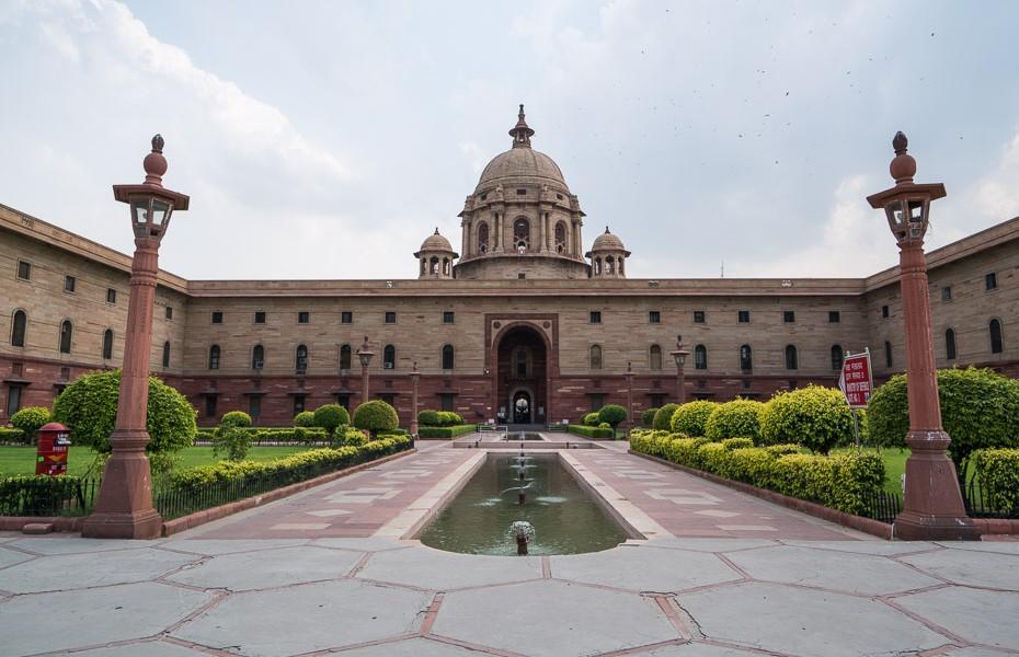 parlaments indija deli sekretariāts kolonnas