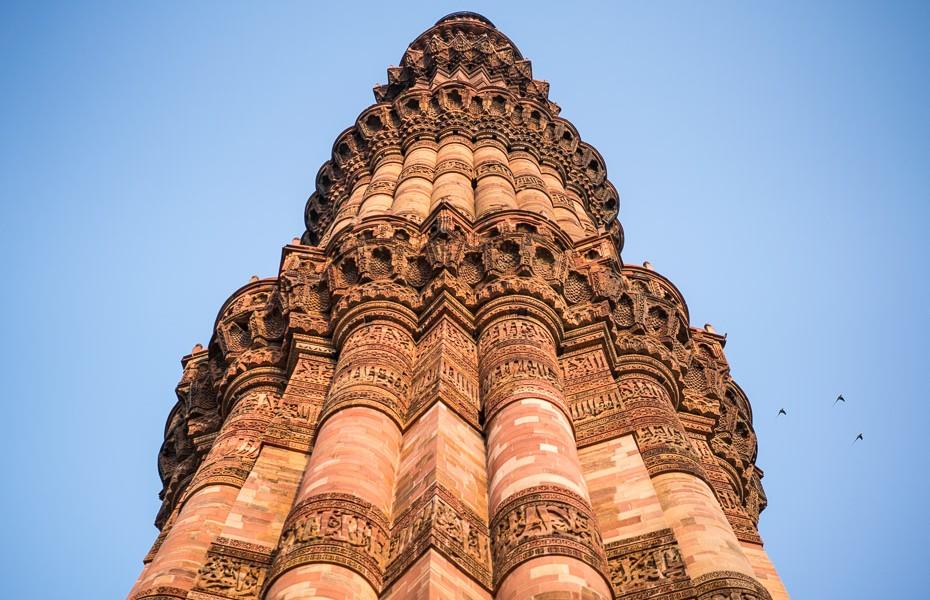 qutb minarets minar deli