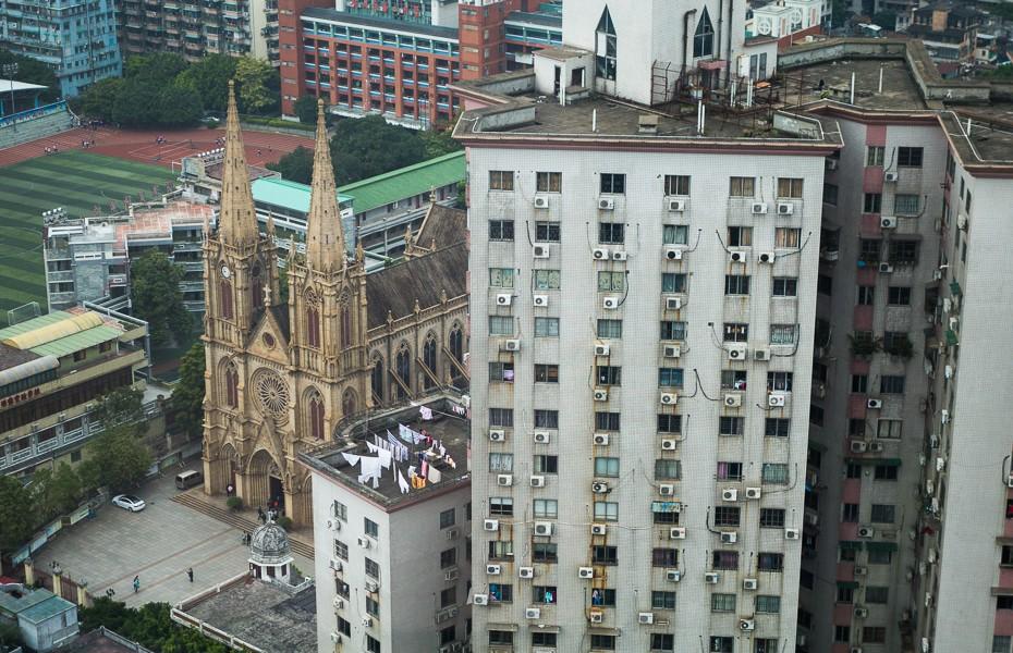 svētās sirds katedrāle ķīna guandžou