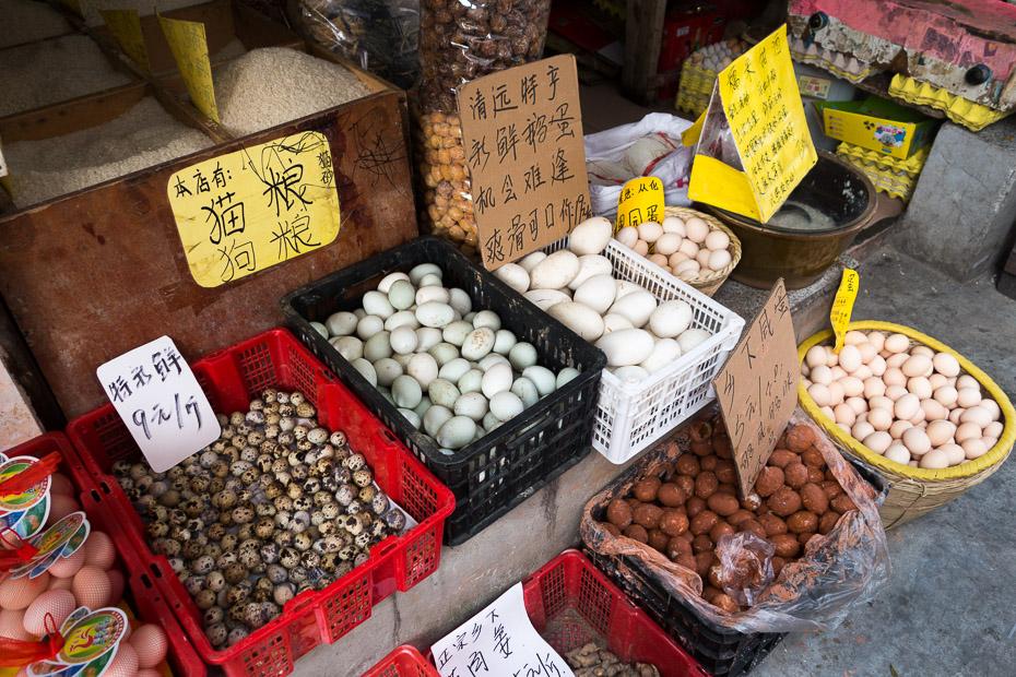 tirgus ķīna guandžou olas