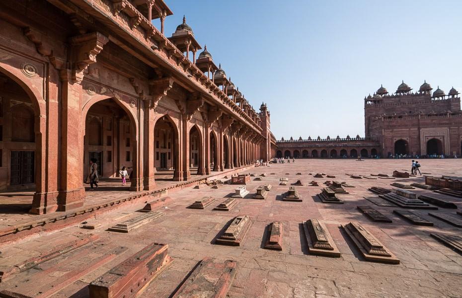 āgra mošeja fatehpur sikri pilsēta