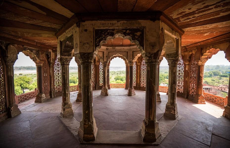 agras forta arhitektūra indija