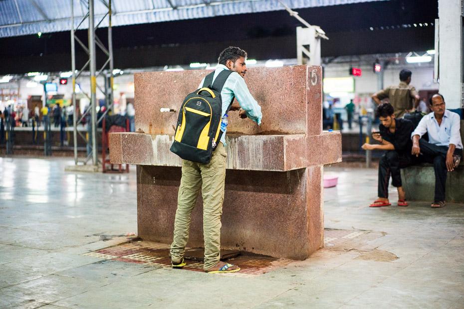 dzeramais ūdens indija dzelzceļa stacija