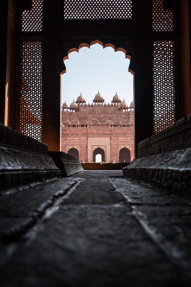 kapenes mošeja fatehpur sikri agra indija