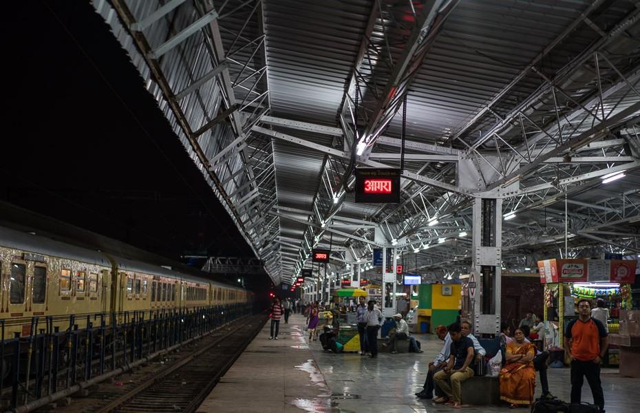 perons āgras vilcienu stacija indija