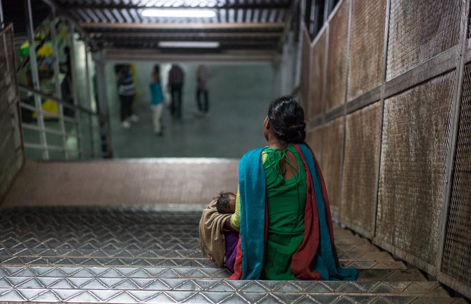 ubagi nabadzība indija