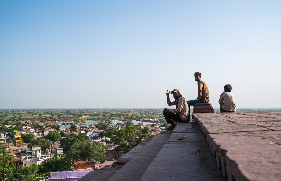 vietējie indija fatehpur sikri