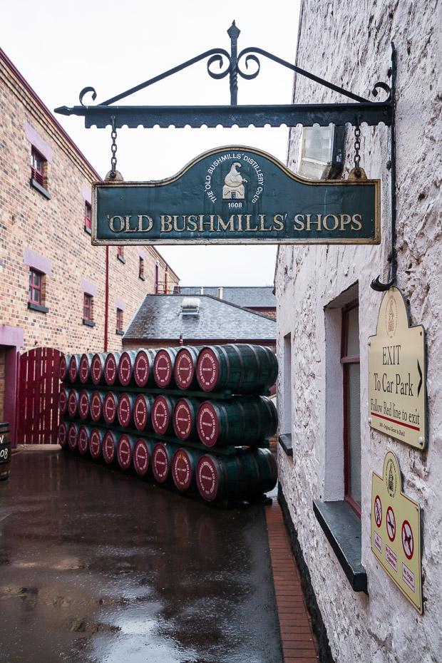 bushmills viskija darītava