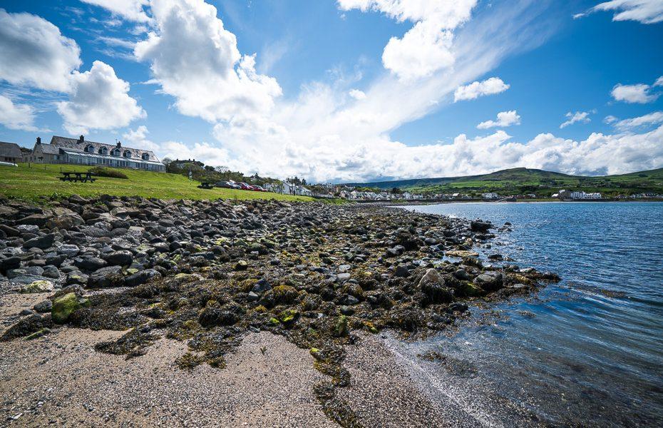 dabas skati ziemeļīrijas piekrastē