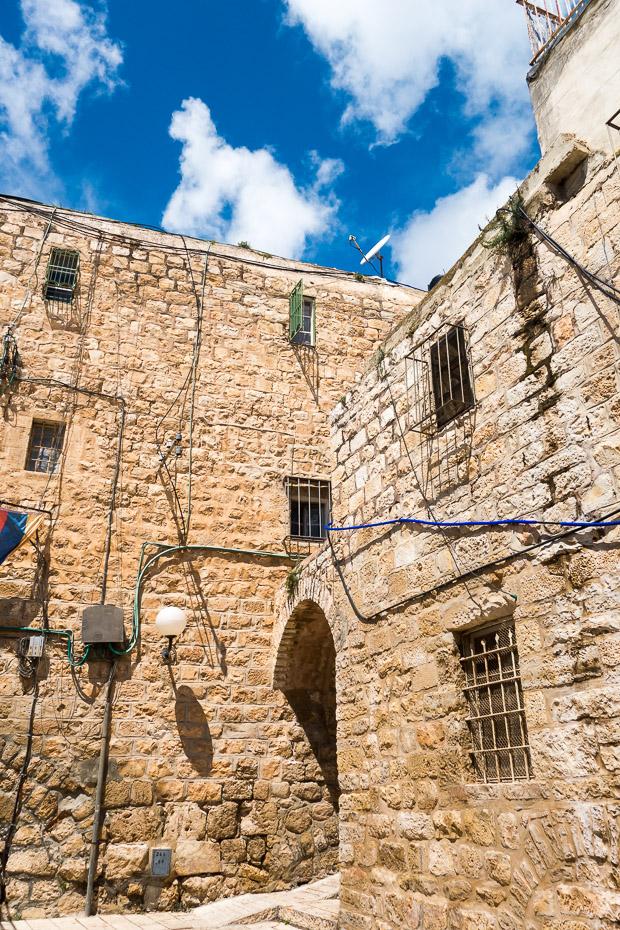 izraēla jeruzalemes vecpilsēta