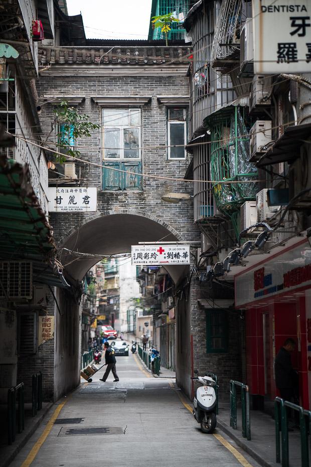 makao ieliņas starp ķīnu un portugāli