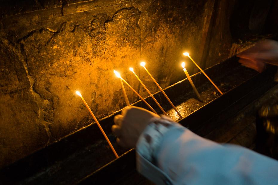nosvētītas sveces izraēla jeruzaleme svētceļojums suvenīrs