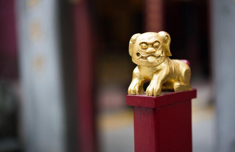 skulptūra makao ama templī