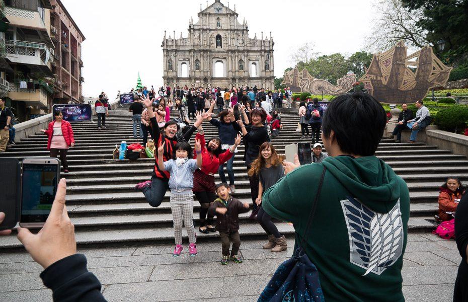 svētā paula baznīcas drupas makao