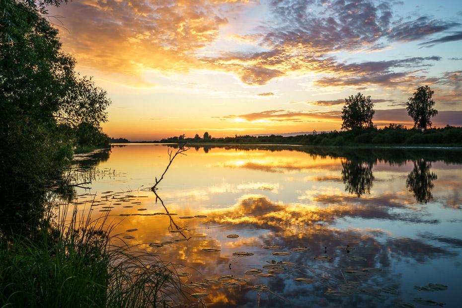saulriets rēzeknes upē