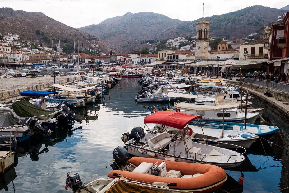 hydra grieķija salas