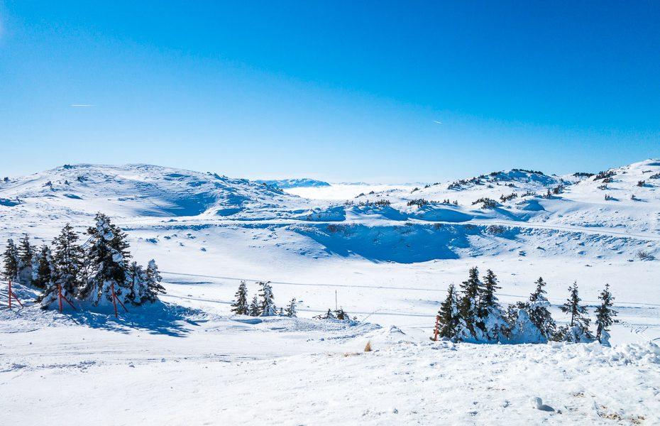 kalnu virsotnes bosnijā