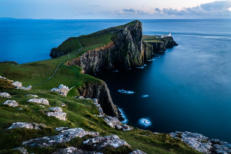 Vaļu vērošanas vieta Skotijā