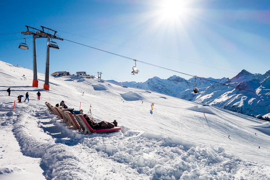 Slēpošana Alpos