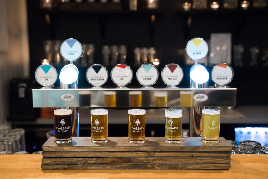 vistālāk uz ziemeļiem ražotais alus