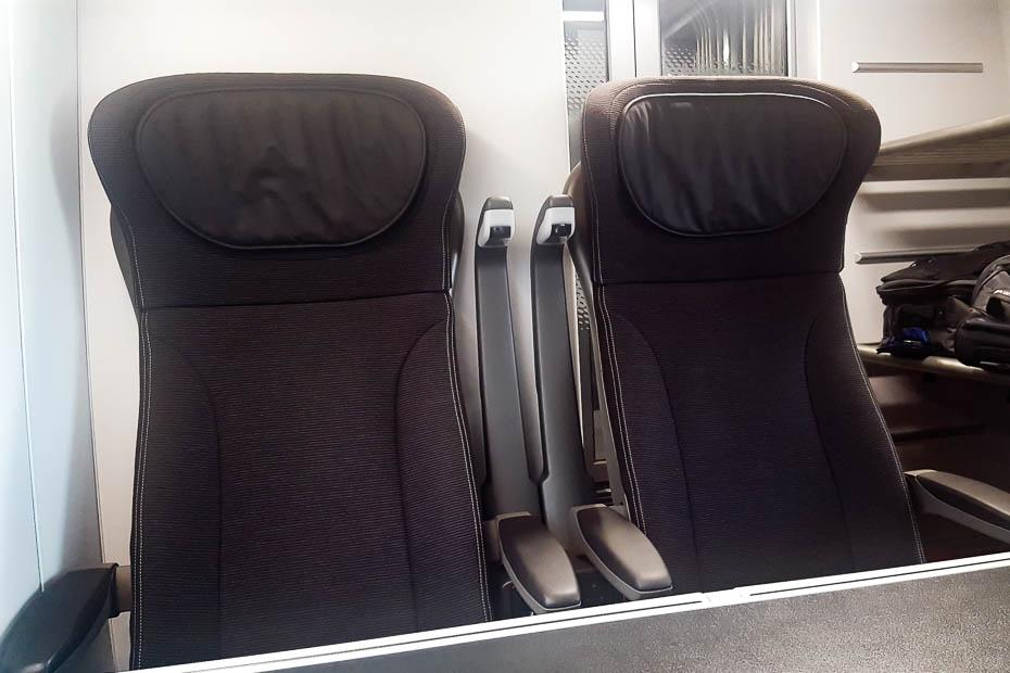 eurostar vilciena labākās sēdvietas