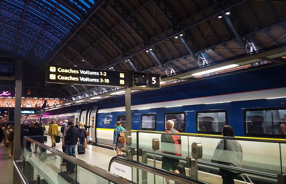 Kā saņemt kompensāciju par Eurostar vilciena kavēšanos