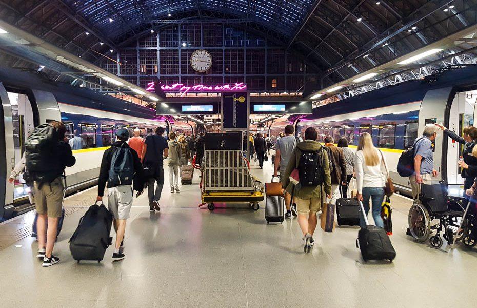 Kas jāņem vērā braucot ar Eurostar vilcienu uz Londonu