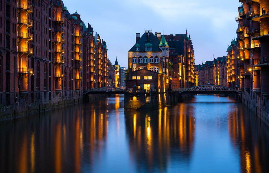 Labākās apskates vietas, restorāni un iepirkšanās Hamburgā