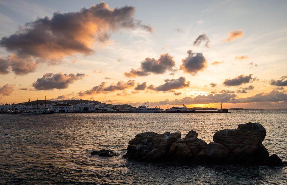 Grieķu salas nesezonā – Mikonas sala
