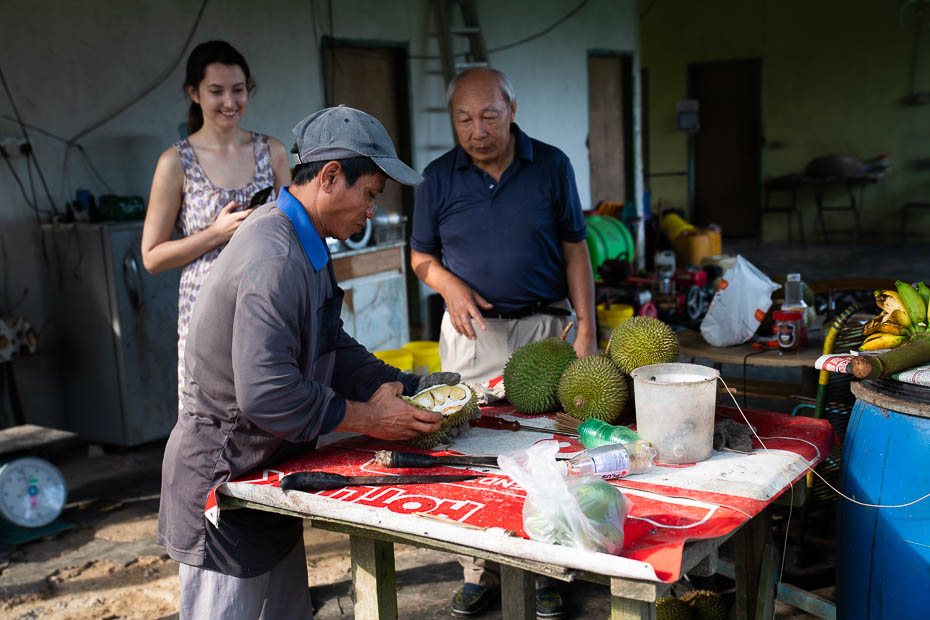 durianu degustācija