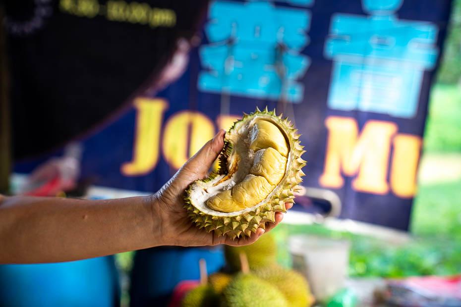 smirdīgākais auglis pasaulē durians tuvplānā